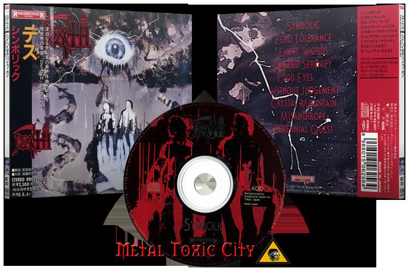 Death Usa Symbolic 1995 Japanese Edition 1996 Forum